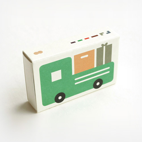 Pocket Crayon Block Truck