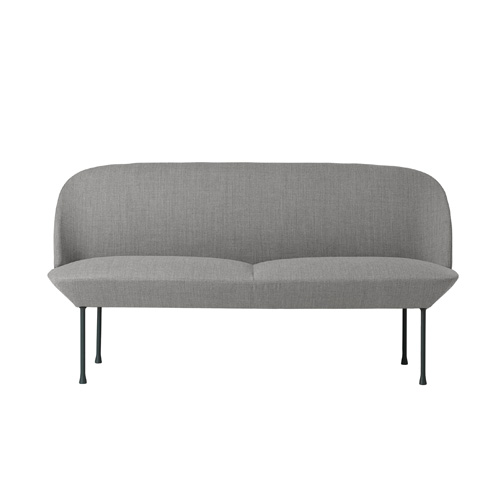 Oslo Sofa 2-Seater Fiord 151/Dark Grey Legs