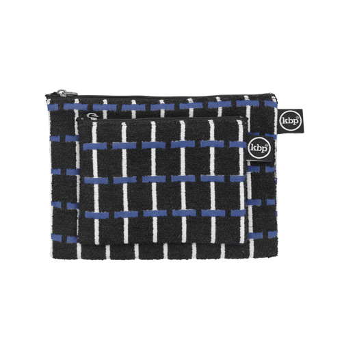 Jacquard Albers Navy Pouch