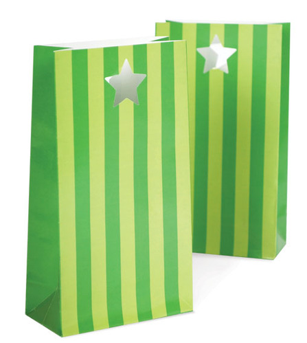 Party Bags Apple Green