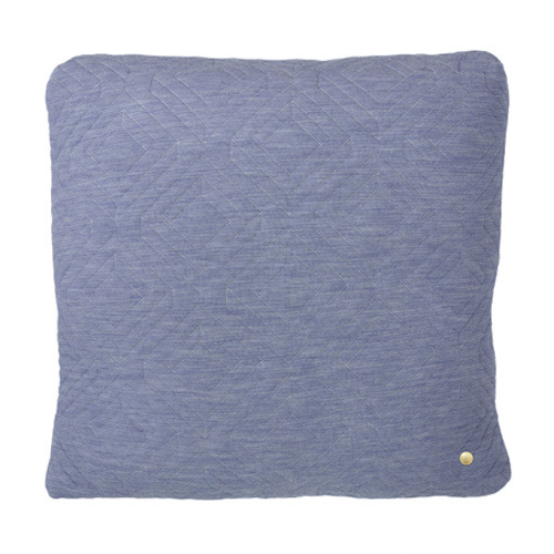 Quilt Cushion Light Blue 45x45 (30% sale)