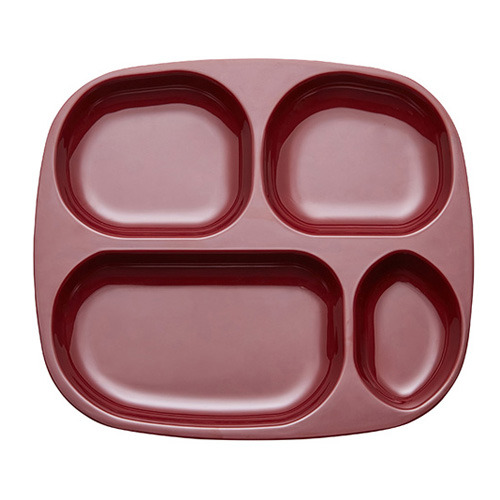 Forest Divided Tray Burgundy