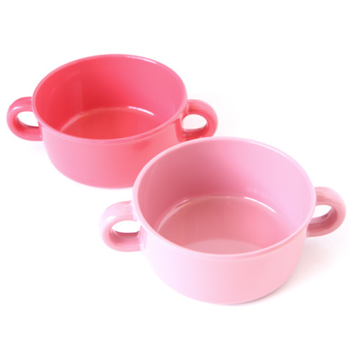 Glam PINK Soup Bowl Set