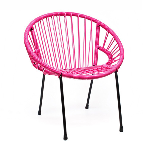 Tica Kid Armchair Pink