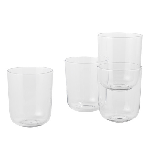 Corky Tall Glasses Set Clear