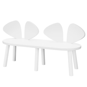 Mouse Bench White