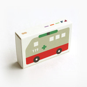 Pocket Crayon Block Ambulance