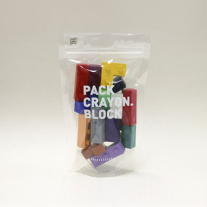 Packcrayon Block 18piece