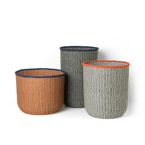 Braided Floor Basket Set of 3