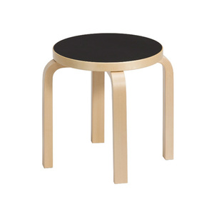 Children's Stool NE60 Black/Birch