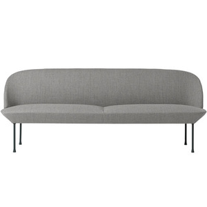 Oslo Sofa 3-Seater Fiord 151/Dark Grey Legs