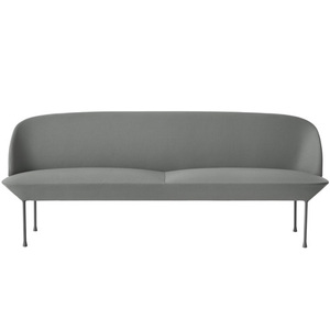 Oslo Sofa 3-Seater Steelcut 160/Light Grey Legs