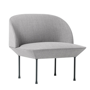 Oslo Lounge Chair Fiord 151/Dark Grey Legs