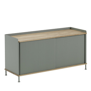 Enfold Sideboard Low Oak/Dusty Green  현 재고