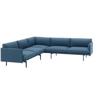Outline Sofa Corner  Vidar 733/Black Base