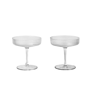 Ripple Champagne Saucer Set of 2 4월말 입고 예정