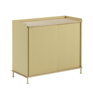Enfold Sideboard Tall Oak/Sand Yellow  전화문의