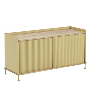 Enfold Sideboard Low Oak/Sand Yellow  전화문의