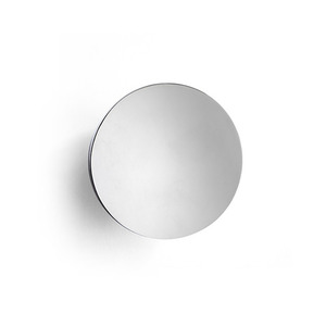 Aura Wall Mirror Stainless Steel
