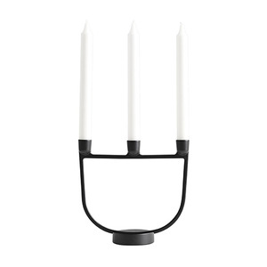 Open Candelabra Black