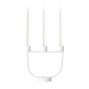Open Candelabra White
