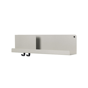 Folded Shelves Medium Grey [주문 후 3개월 소요]