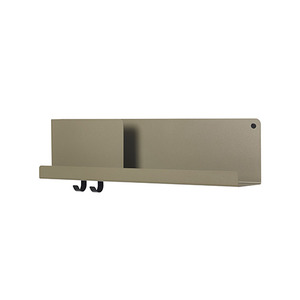 Folded Shelves Medium Olive [주문 후 3개월 소요]