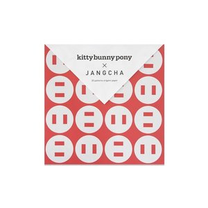 Kittybunnypony x Jangcha 20 Patterns Origami Paper Ⅲ