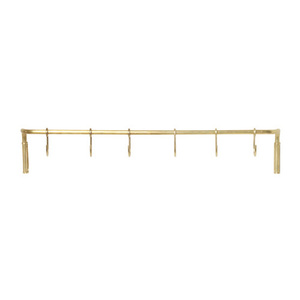 Kitchen Rod Brass