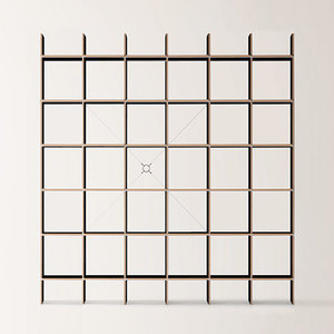 FNP Shelf System Black 5x6  전화문의