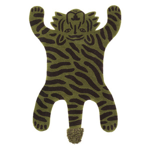 Safari Tufted Rug Tiger