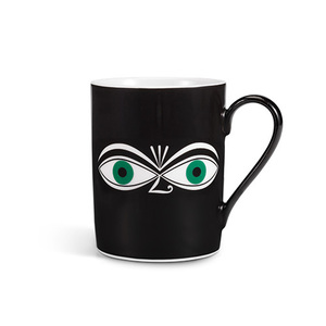 Coffee Mug Eyes Green