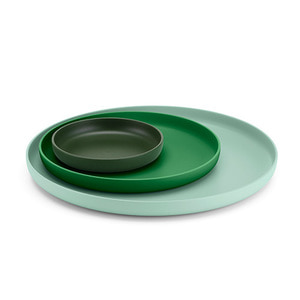 Trays Set of 3 Green [2월중순입고]