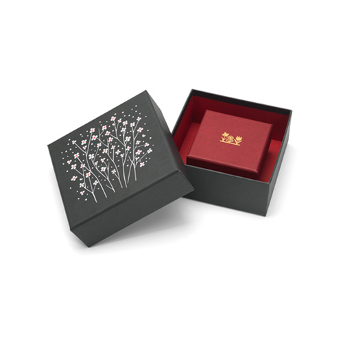 Graphic Boxes Flower Set of 2 [2월중순입고]