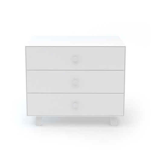 Merlin 3 Drawer Dresser White