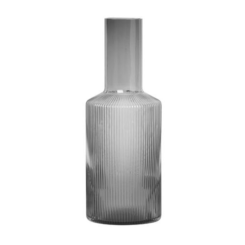 Ripple Carafe Smoked Grey  주문후 3개월 소요