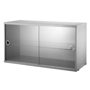 Display Cabinet Grey