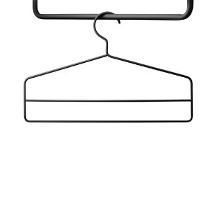 Coat-Hangers 4pcs Black