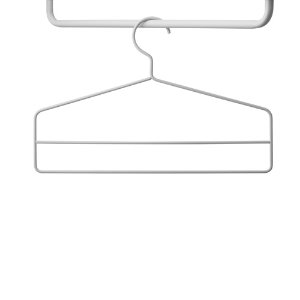 Coat-Hangers 4pcs Grey