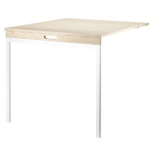 Folding Table Ash/White