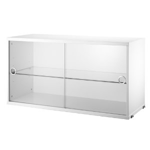 Display Cabinet White