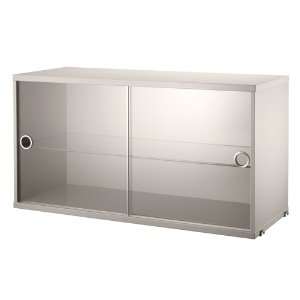 Display Cabinet Beige