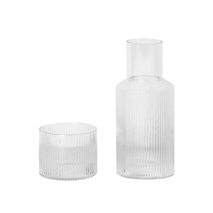 Ripple Carafe Set Small  주문후 3개월 소요