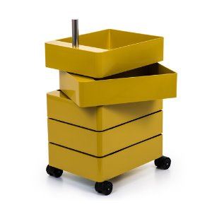 360° Container 5 Drawers Yellow
