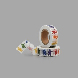 KBP Masking Tape Animals Rainbow CBB