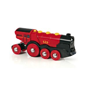 Mighty Red Active Locomotive