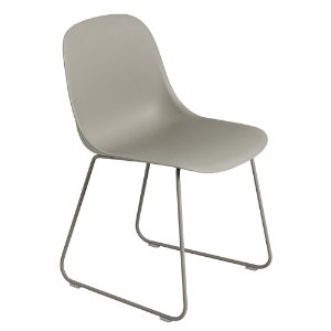 Fiber Side Chair Sled Base Grey/Grey  12월 초 입고