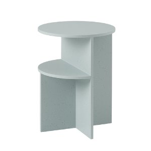 Halves Side Table Sage Green