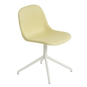 Fiber Side Chair Swivel Base W.O Return Balder 432/White  현 재고