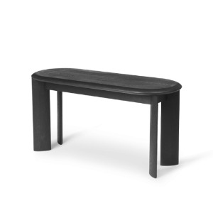 Bevel Bench Black Oiled Oak 현 재고